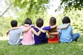 amistad niños